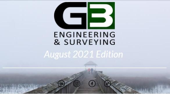 G3 Newsletter August '21 Edition