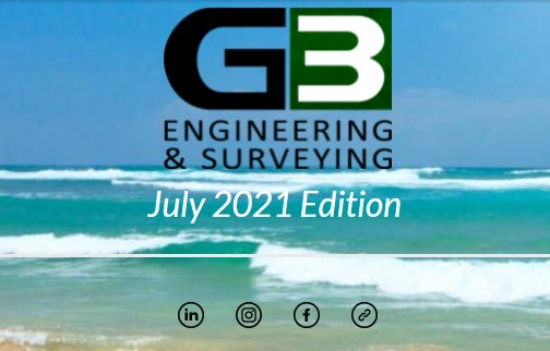 G3 Newsletter July '21 Edition