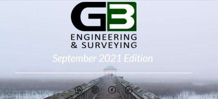G3 Newsletter September '21